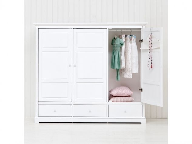 Oliver Furniture 3-türiger Kleiderschrank -niedrige Version - | Kids ...