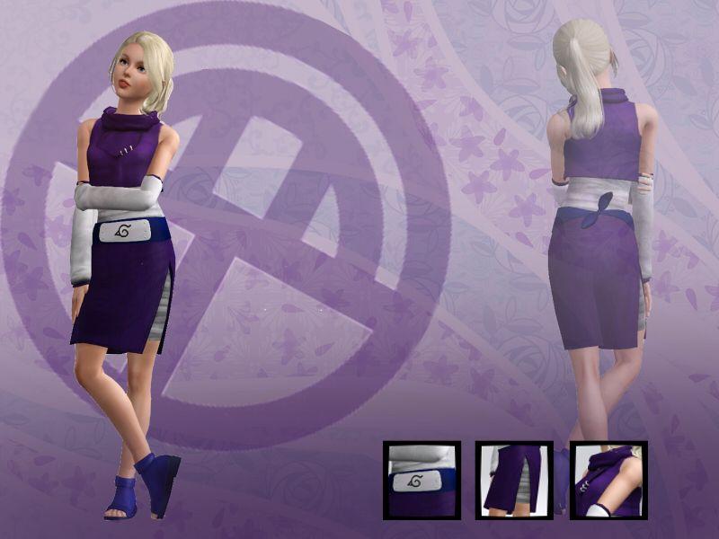 Ino Yamanaka Outfit - siaowowo | The Sims 3 - Naruto ...