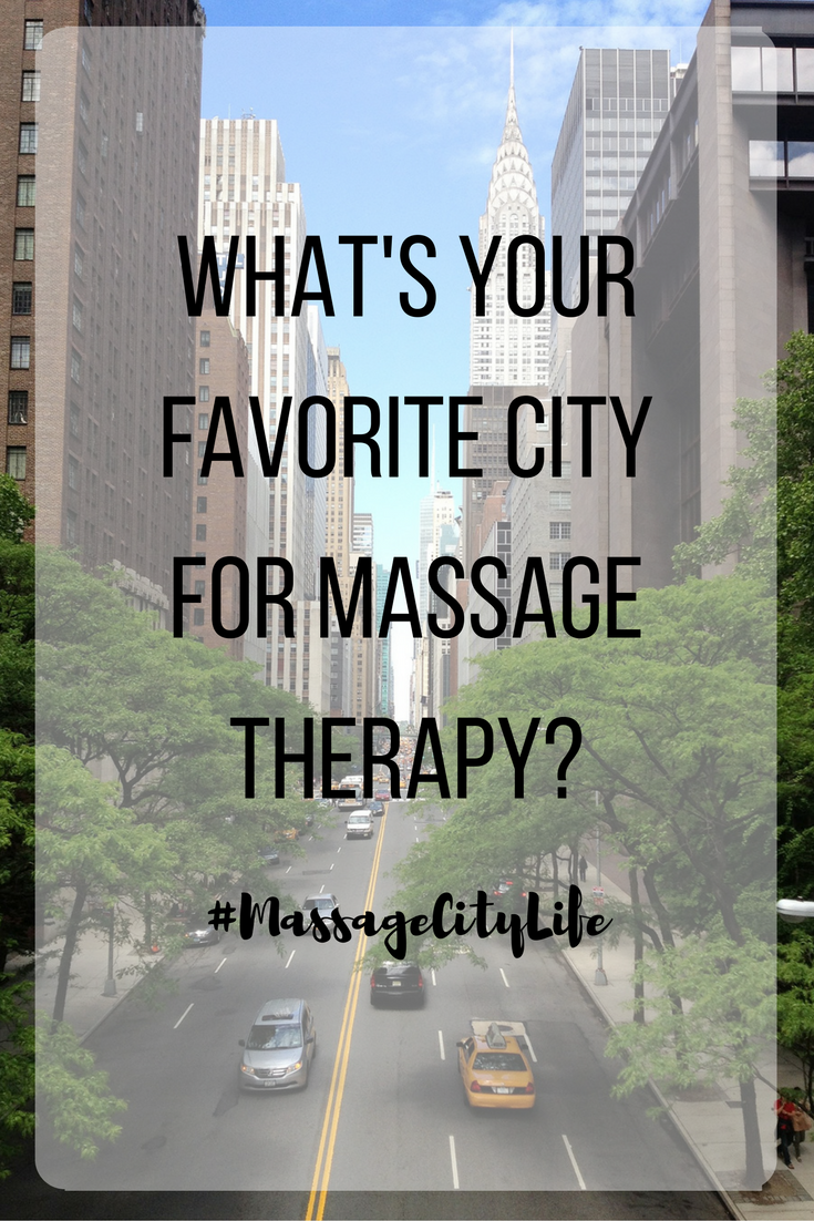 Are These The Best U S Cities For Massage Therapists Massage Mag