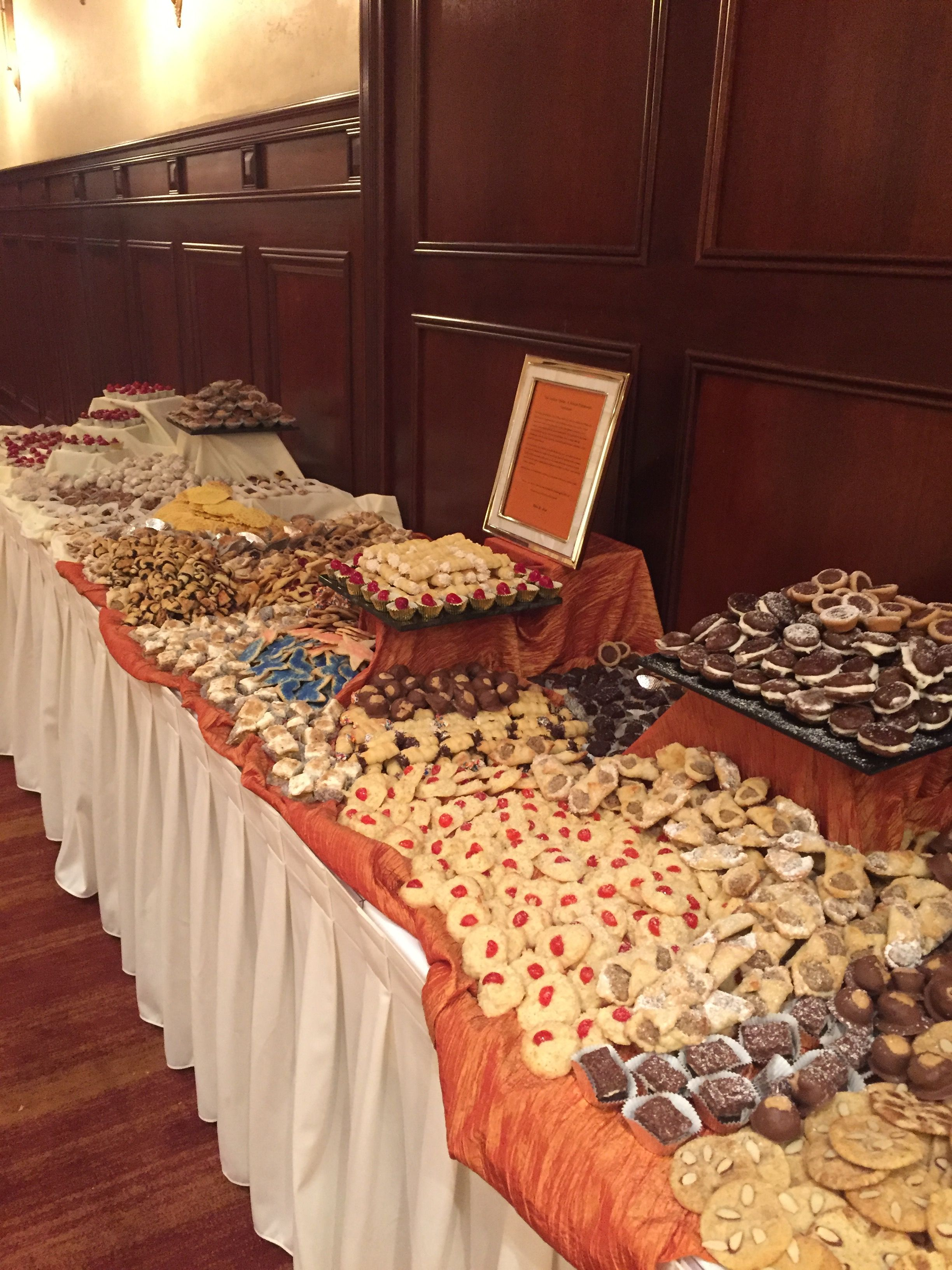 Traditional Pittsburgh Cookie Table. Hollywood Beach Marriott ...