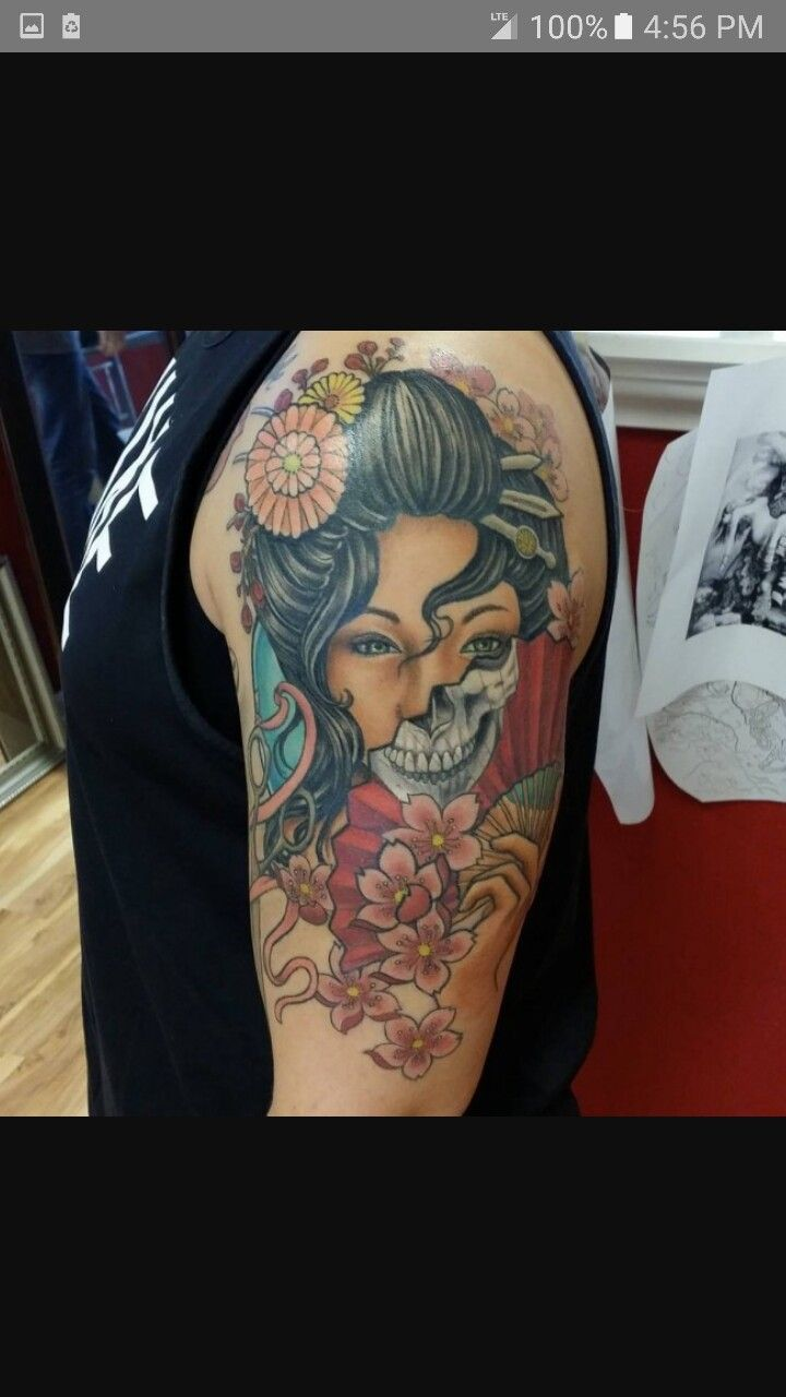 Pin de me em tattoo 39 s japanese geisha tattoo geisha - Tattoos geishas japonesas ...