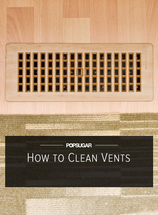 Happy Home: How to Clean Your Vents