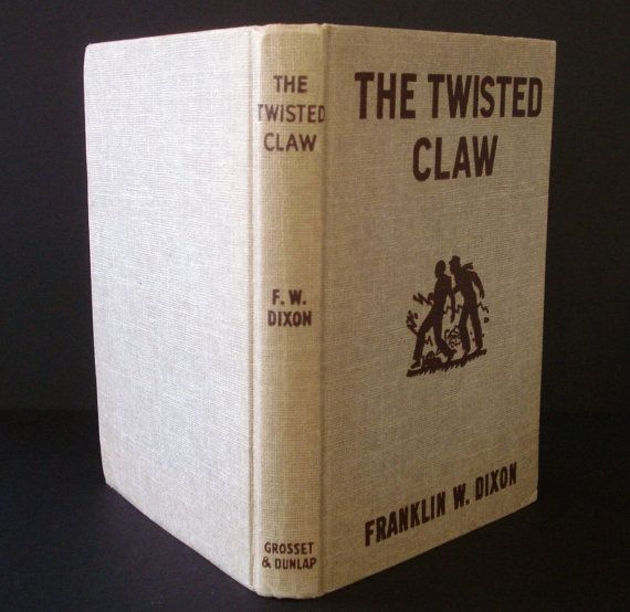 1939 Hardy Boys Mystery The Twisted Claw Vintage by YourBookStore