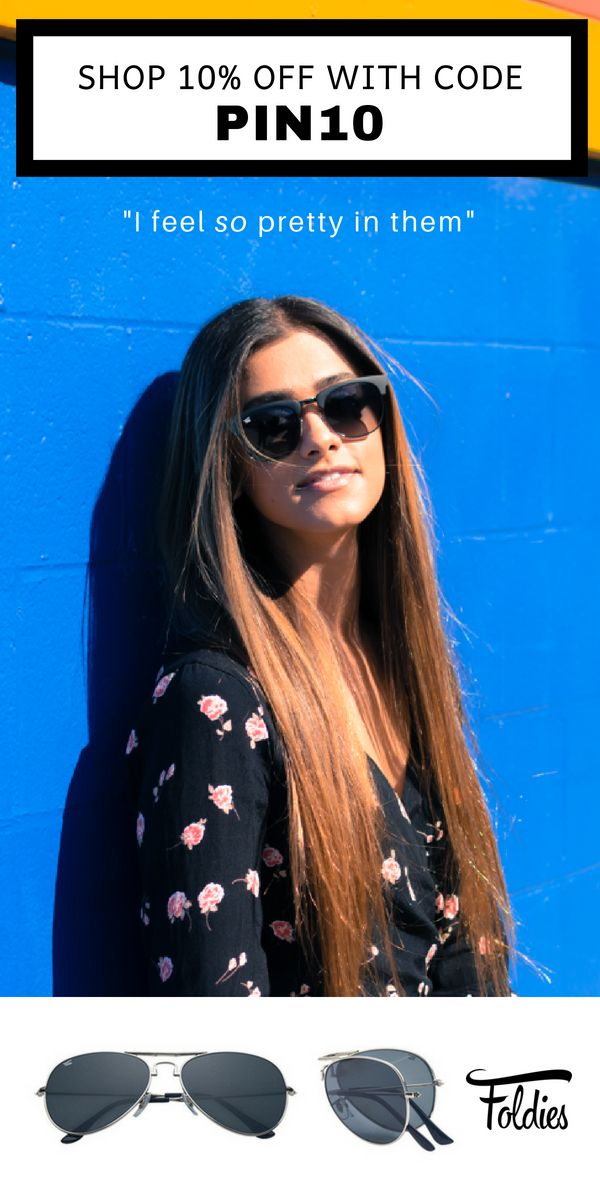 4666845dc50e Discover new foldable sunglasses for men + women by Foldies. Shop 10% off  unique foldable aviators, new wayfarers, festival style round suglasses, ...
