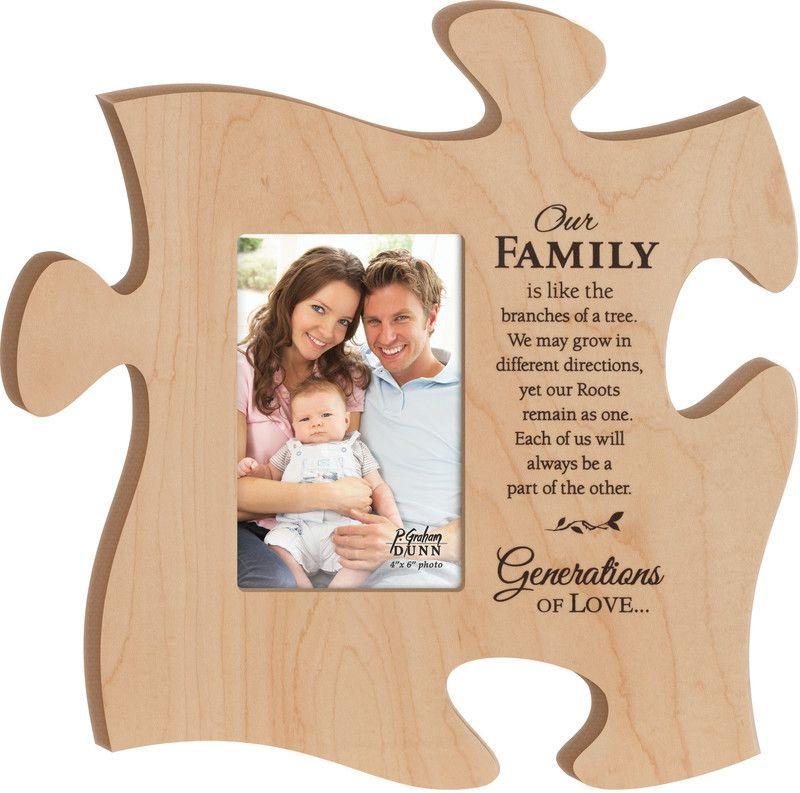 these puzzle piece picture frames and tiles actually fit together to form your own unique wall