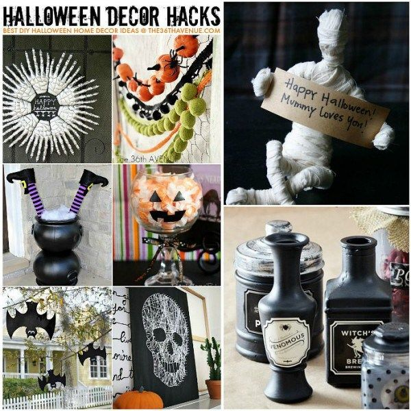 Be Sure to Bookmark These Halloween Decor Hacks