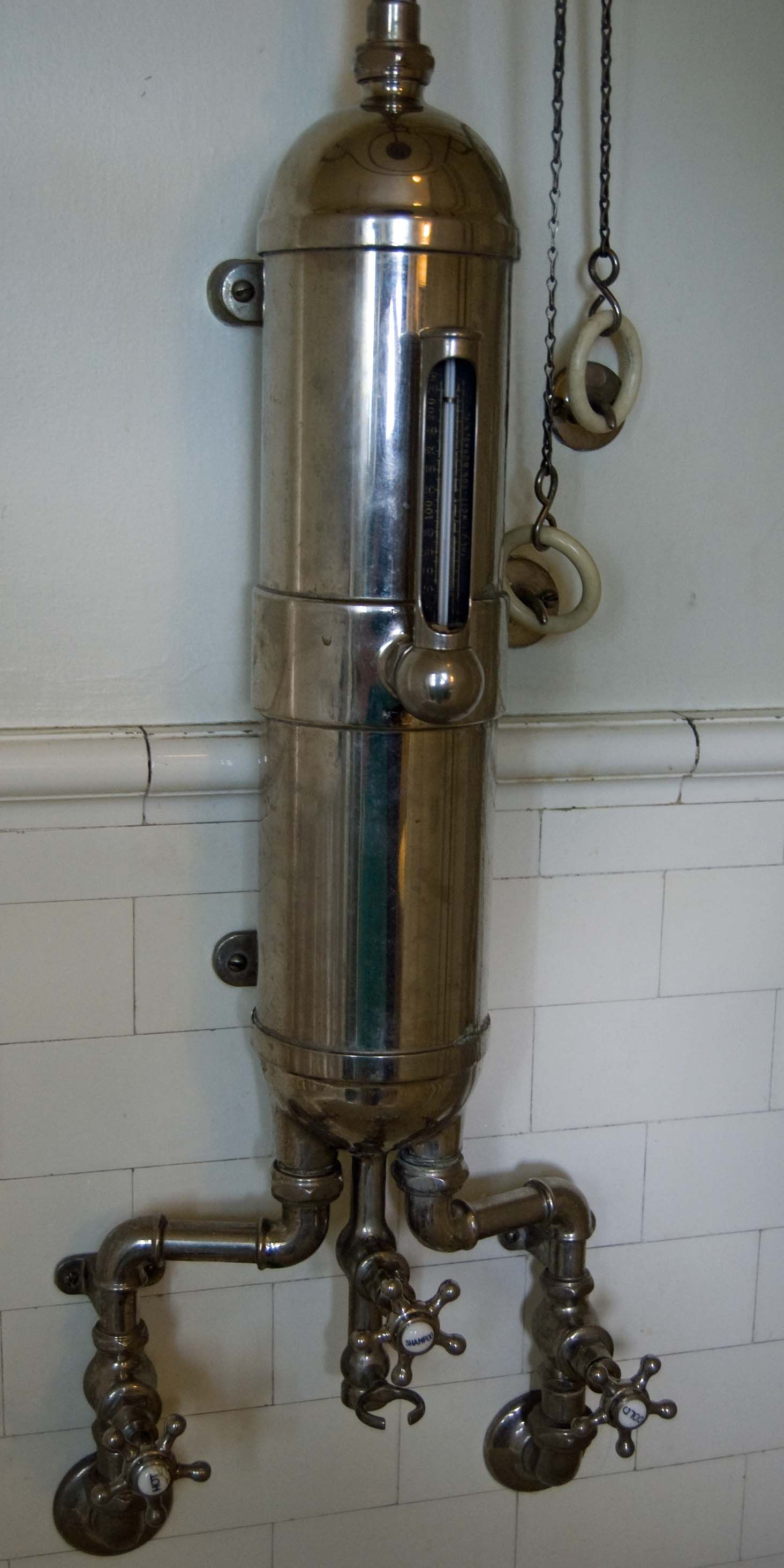 vintage plumbing. can you imagine?? | Plumbing can be pretty ...