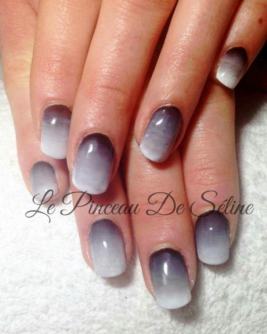 Ongle gel gris fashion designs - Ongle gel gris ...