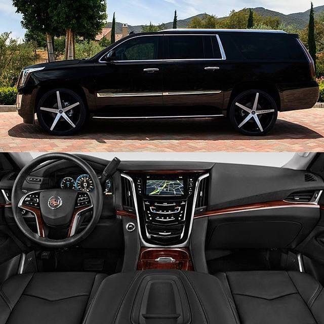 """@cadillac Escalade On 26"""" R-Four Tag A Friend Who Would"""