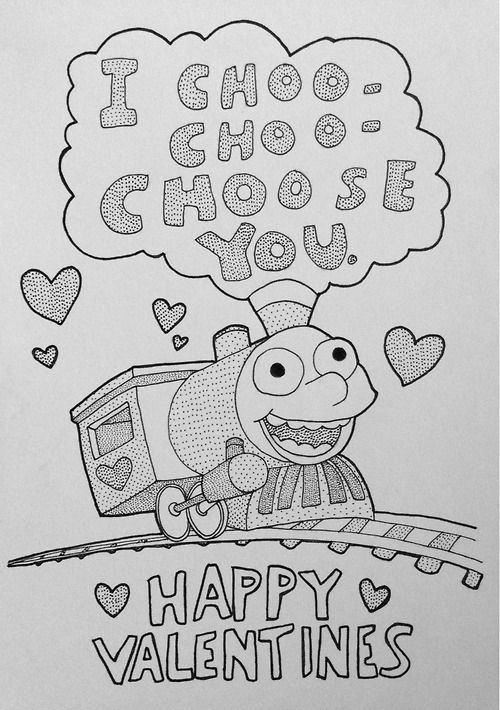 Modest image intended for i choo choo choose you printable card