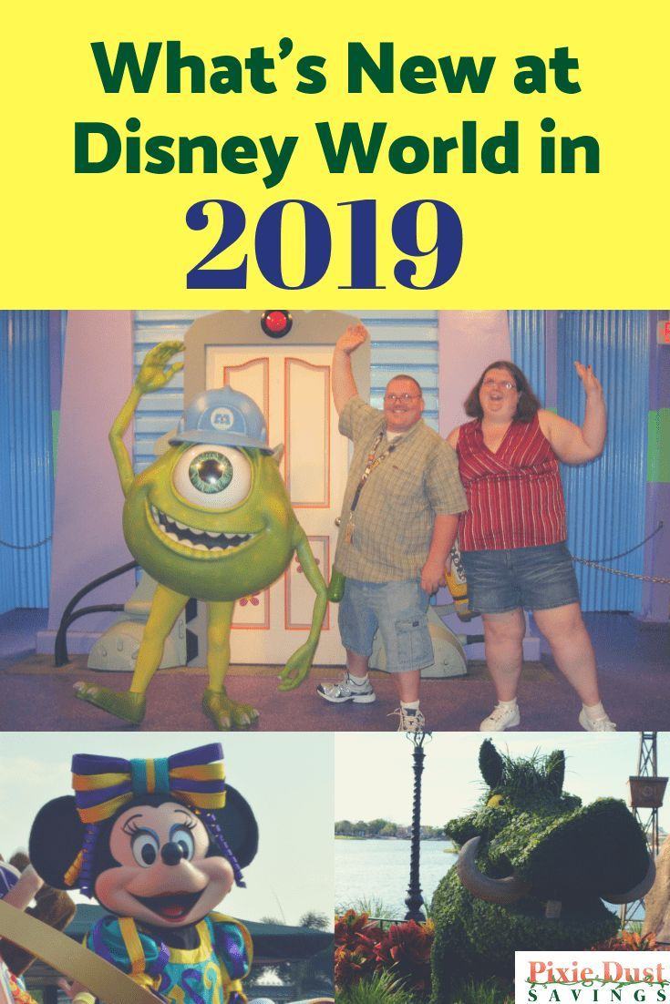Whats New At Disney World In 2019 Travel Tips Pinterest