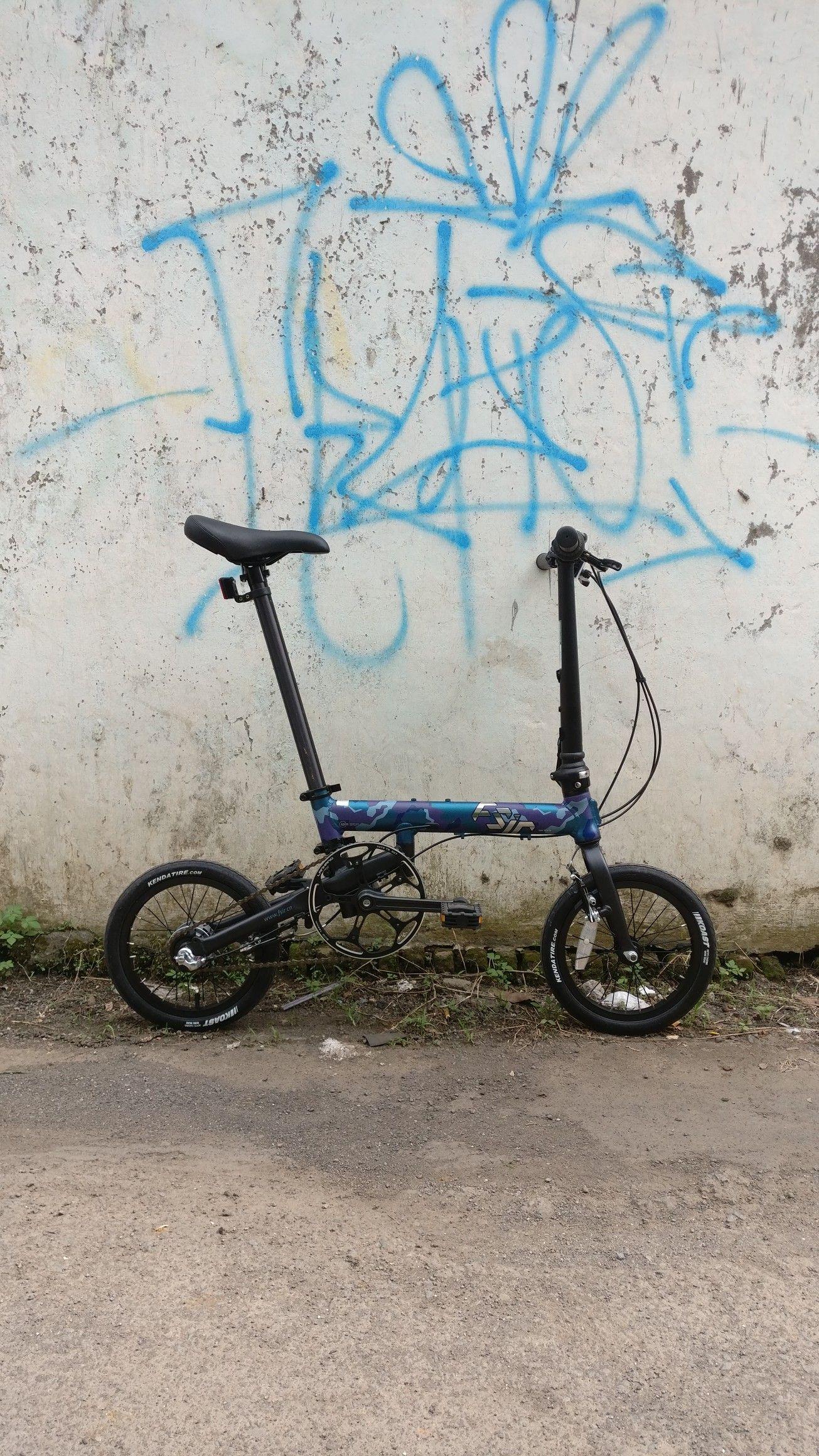 Fsir Spin 2 0 Folding Bike 14 Inch Wheels 3 Speed Internal Gear