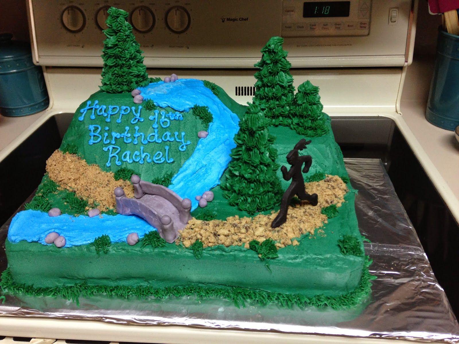 Sarah Jones Cakes Running Crosscountry Cake Running Cake