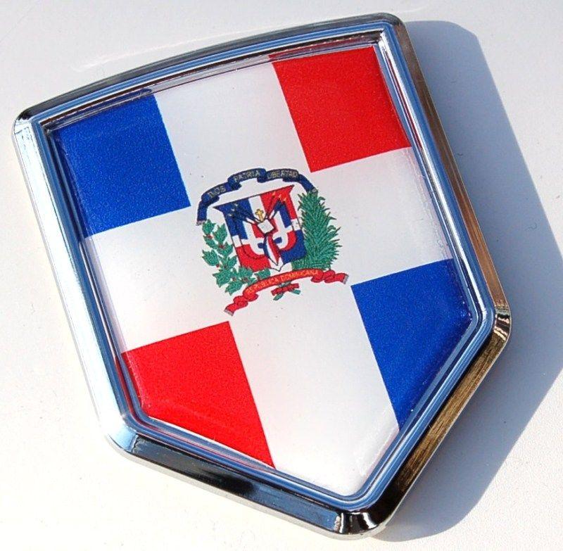 Dominican Republic Flag Symbol Dominican Republic Decal Flag Crest