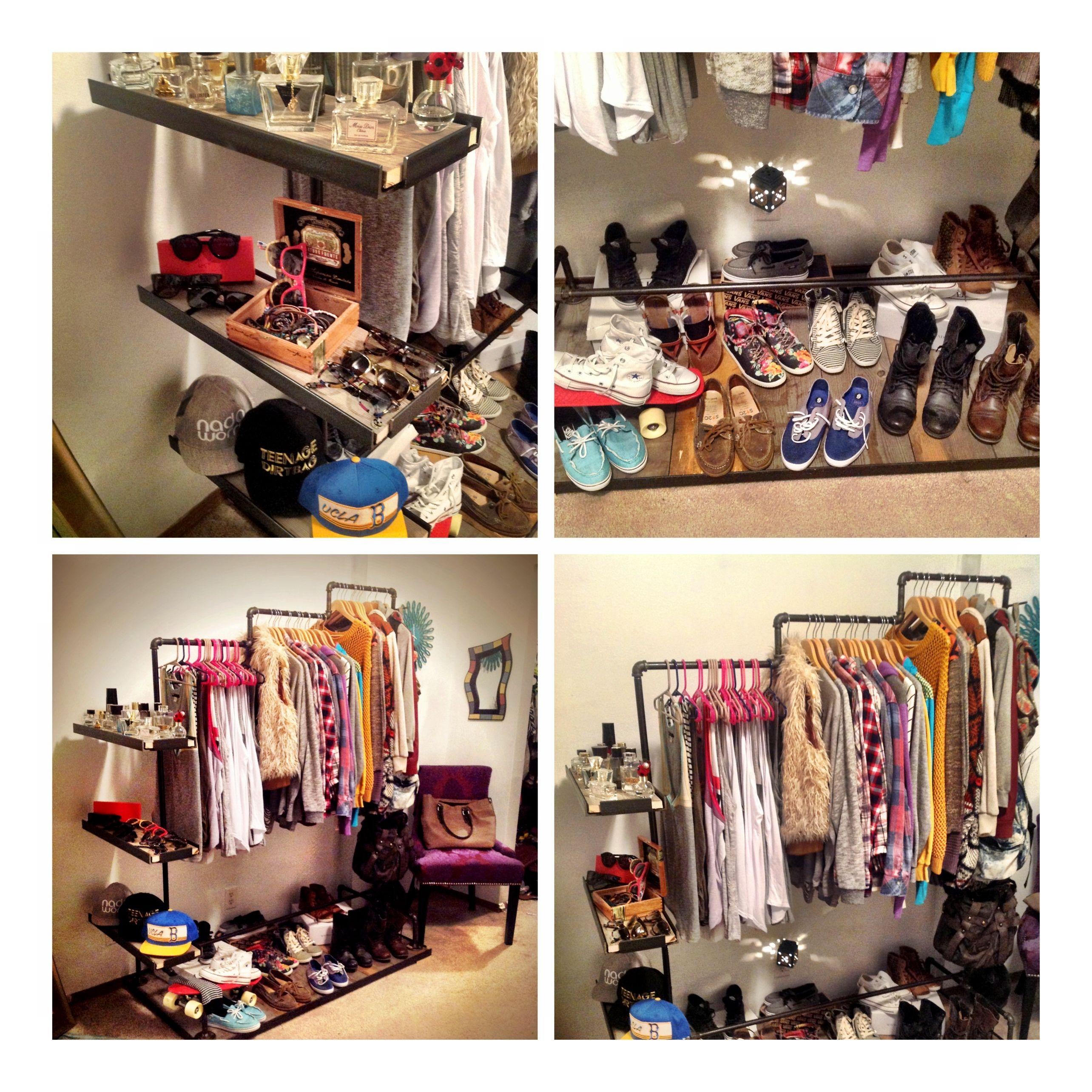 Diy clothing rack organizer good idea for perpetually living