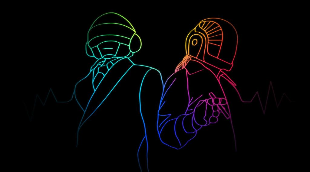 Daft Punk Wallpaper in 2020 | Daft punk, Wallpaper, Punk