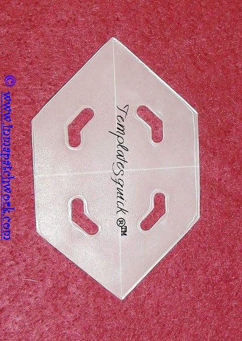 Hexagono Alargado Templatesquick ® ™ plantilla plastico reutilizable ...