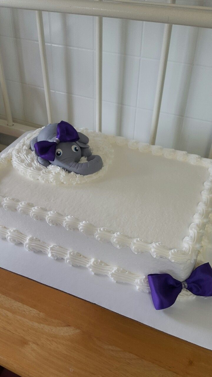 Elephant Baby Shower Cake By Frost Cakes And Sweet Treats Russell