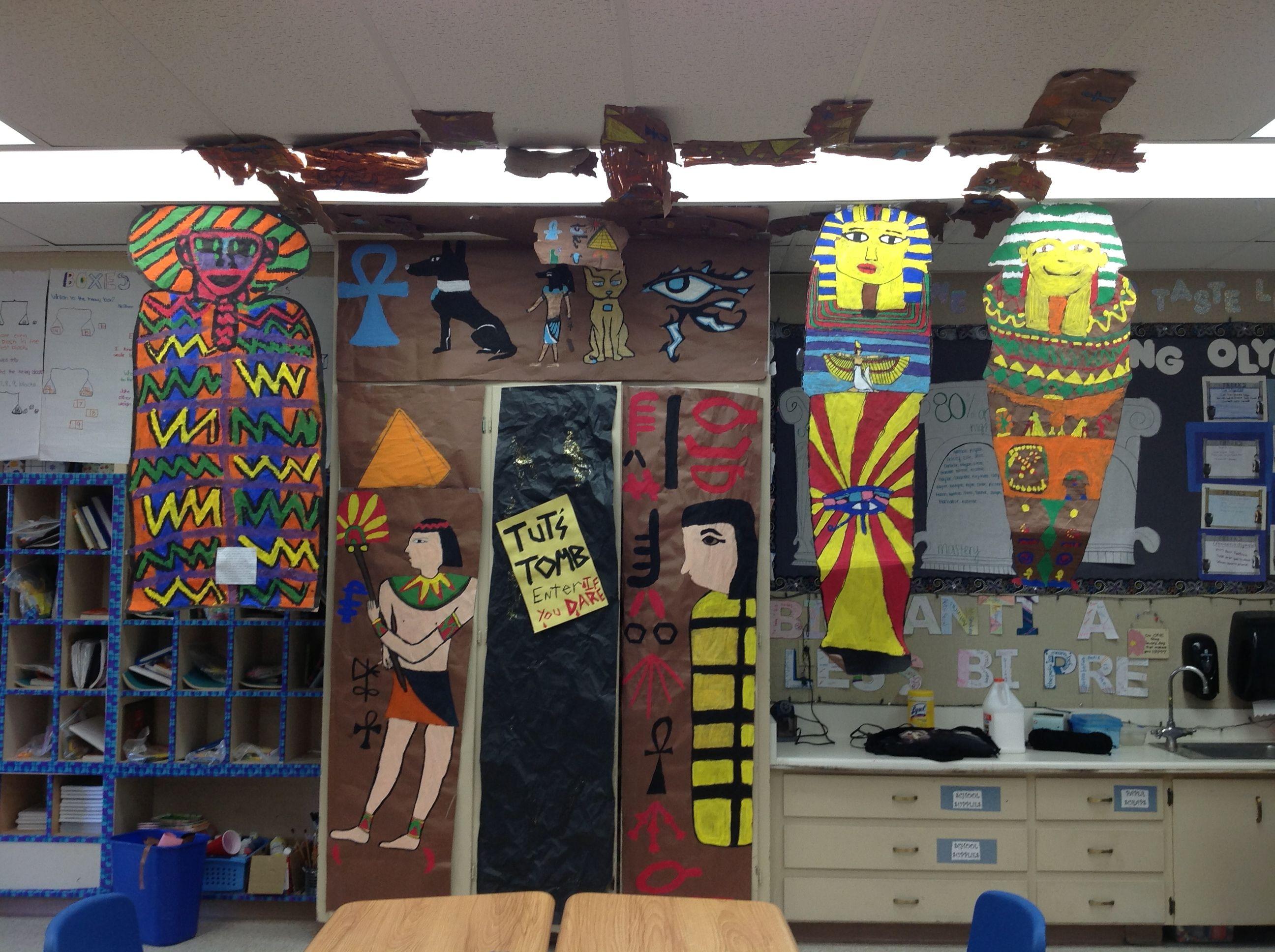 Ancient Egypt Classroom Display