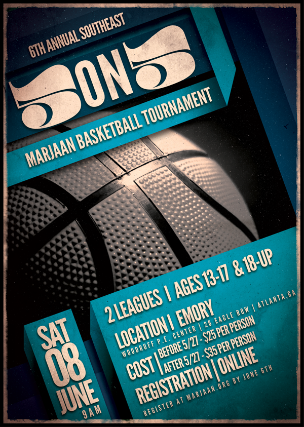 Basketball Tournament Flyer Design