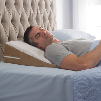 The Traveler's Sleep Improving Wedge Pillow