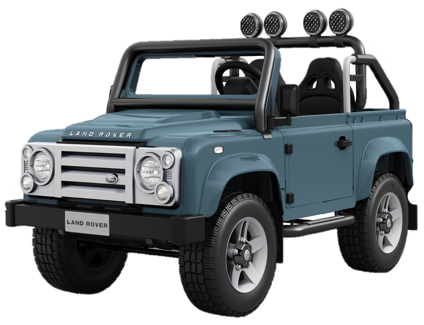Huffy 12V Land Rover Defender RideOn Toy Electric Car for