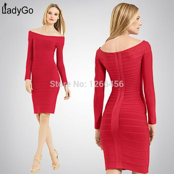 Lady Go 2014 Fashion Rayon Plus Size Long Sleeve Boat Neck H035