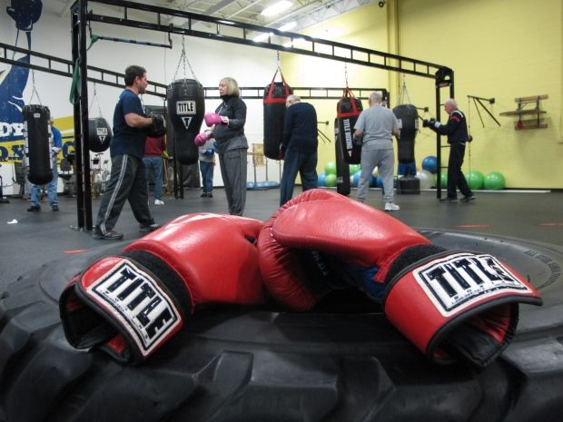 Rock Steady-boxing, an exercise program for Parkinson's patients (no contact of course) helps patients gain strength, balance, and confidence.