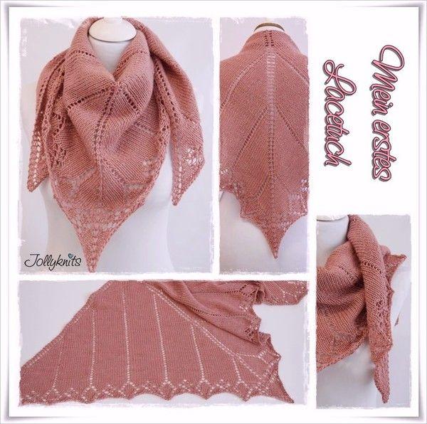 Jetzt gratis die Anleitung für einen Lace-Schal stricken: Schnapp ...