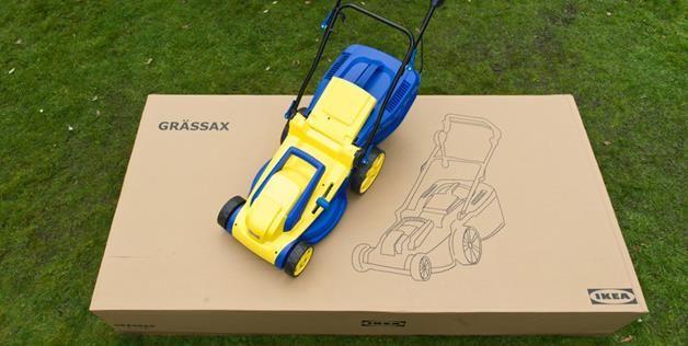 """""""Grassax"""" - IKEA lawnmower"""