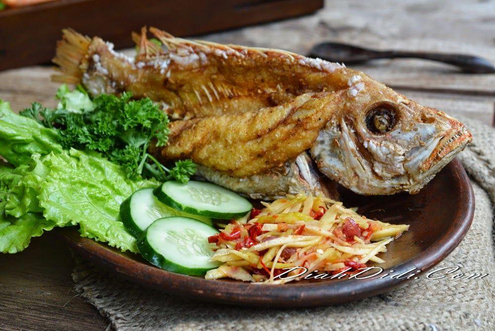 Diah Didi's Kitchen Ikan Terbang Tak Bersayap