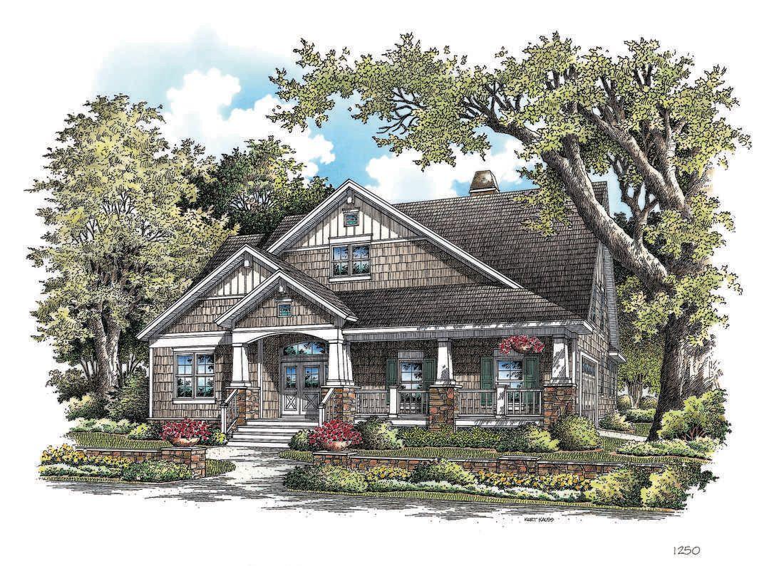 Fernwood house plan don gardner for Don gardner birchwood