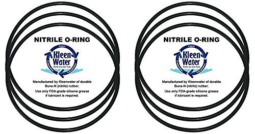 Professor Foam Kw Ws03x10039 Value Pack O Ring Set Compatible With Ge Gxwh30c Gxwh35f Gxwh40l Water Filter Systems Set Of 6 Water Filters System Foam