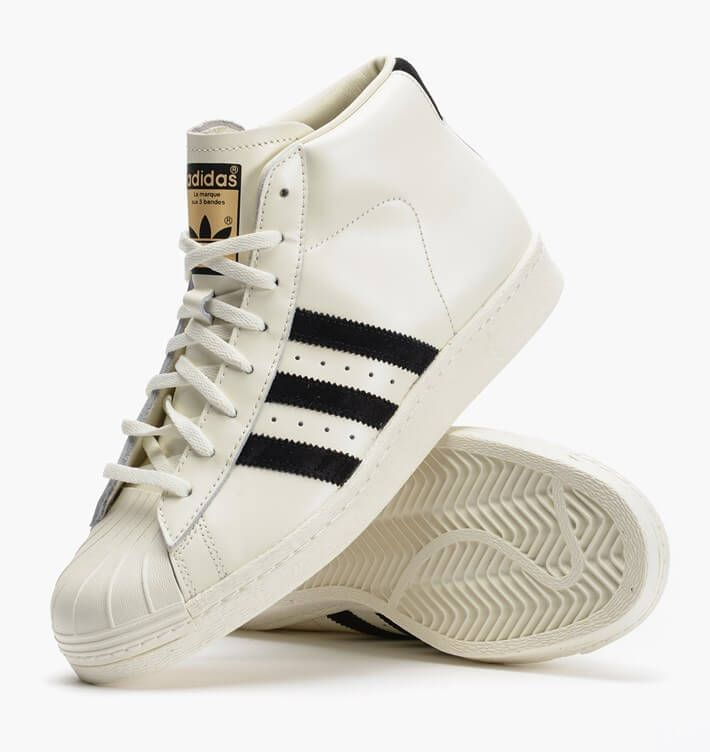 adidas pro model vintage sneakers