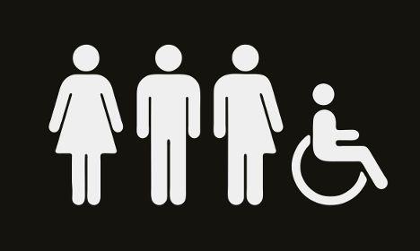 #Genderblend Swedish Museum Gets Gender Neutral Toilet Sign