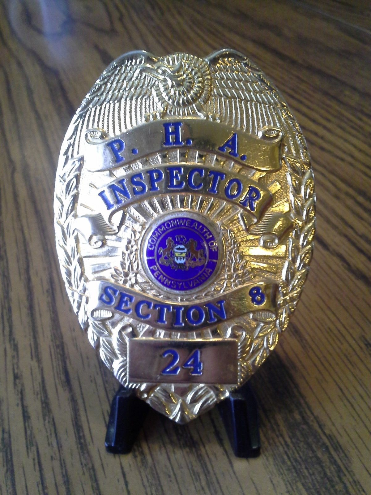 Philadelphia Housing Authority Section 8 Investigator Police Badge Police Patches Badge