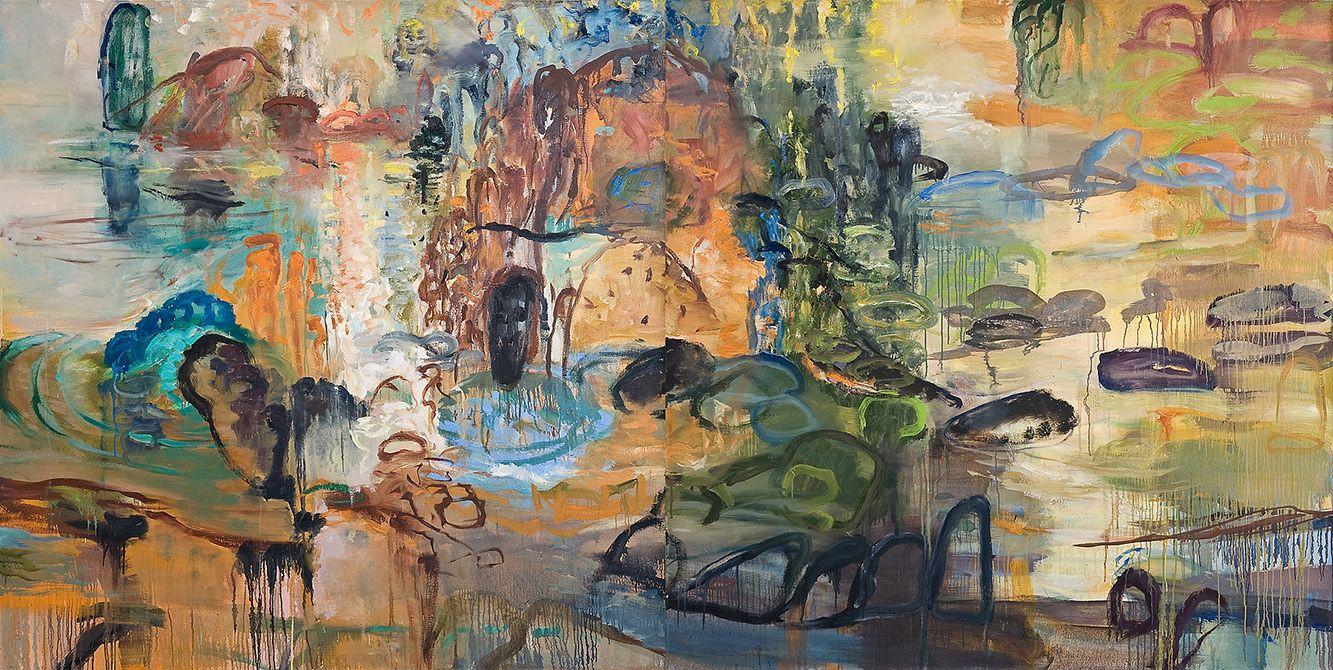 Michael Mazur 2005/08 A foreign shore