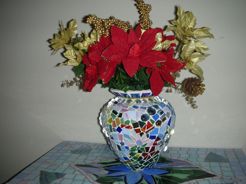 Beautiful large mosaic vase 8500 via etsy wish list beautiful large mosaic vase 8500 via etsy reviewsmspy