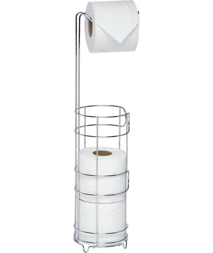 Buy Wire Toilet Roll Storage and Holder - Silver at Argos.co.uk ...