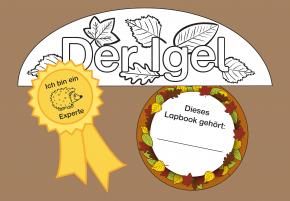 kindergarten kigaportal labels lapbook der igel bastelideen kindergarten hedgehog und. Black Bedroom Furniture Sets. Home Design Ideas