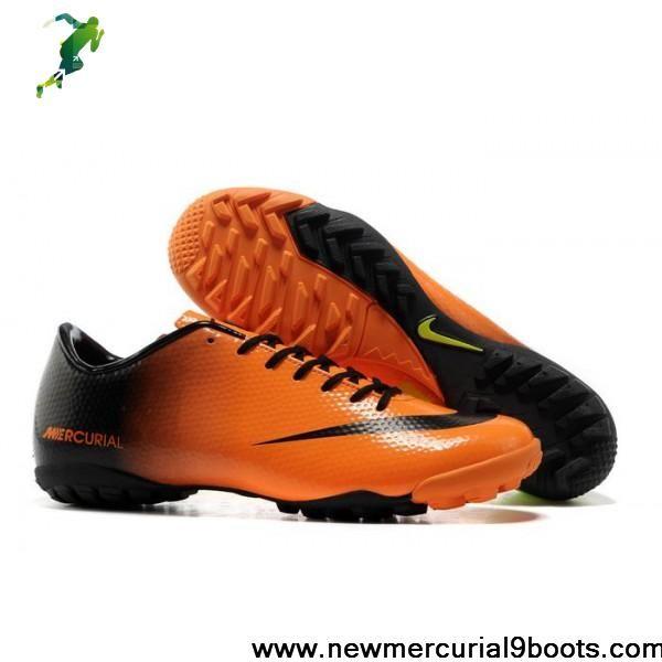Wholesale Cheap Nike Mercurials - Nike Mercurial Victory IX TFs Orange  Black Green Soccer Shoes Shop · NappulakengätAdidas d6105e728a