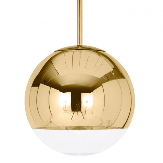 Mirror Ball Pendant By Tom Dixon Mbb50aul Ball Pendant Lighting Gold Pendant Lighting Gold Pendant Lamp