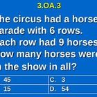 Third Grade Common Core Math 3 OA.3 Equal Group Word Problems 3.OA.3  Practice provides two ways for students to practice and show mastery of their…