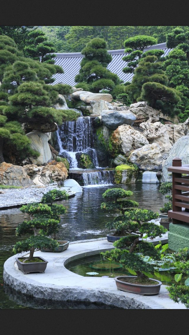garden ,japan pool Pinterest Estanques, Estanques de jardín y