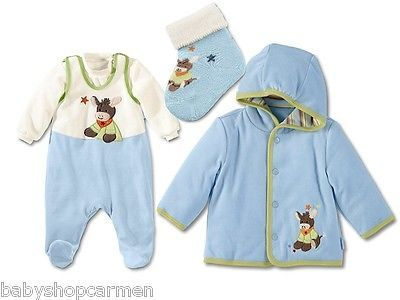 Sterntaler Baby Strampler Set Jacke Kapuzenjacke Nicki Babyjacke Emmi Esel in Baby, Kleidung, Schuhe & Accessoires, Mädchen   eBay