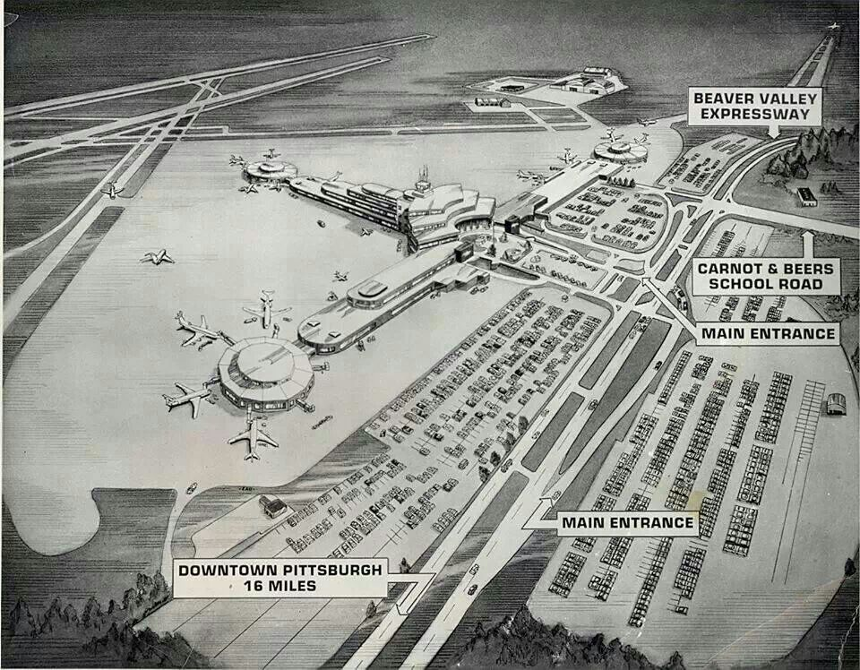 The Old Greater Pittsburgh Airport Pittsburgh City Pennsylvania History Pittsburgh Pa