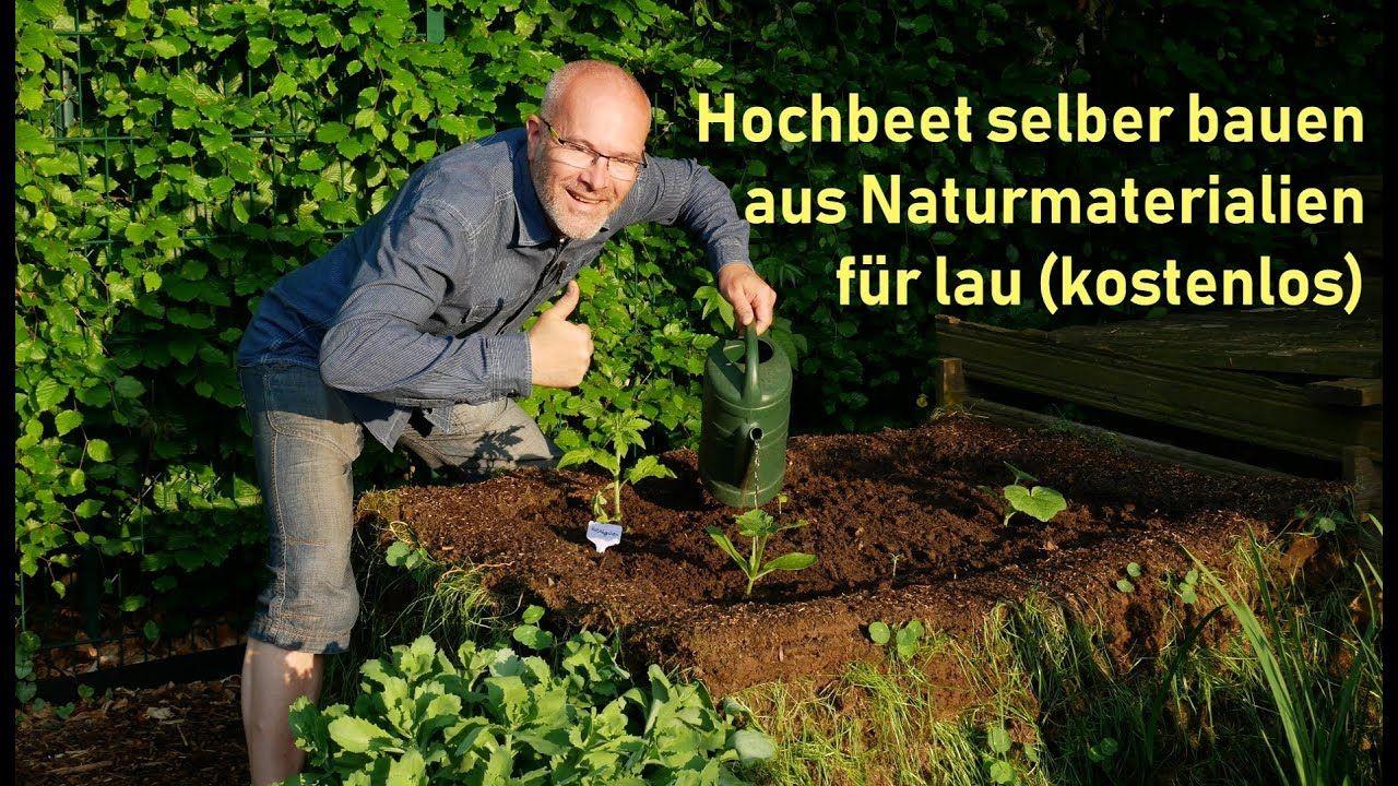 Hochbeet Selber Bauen Kostenlos Aus Naturmaterialien Permakultur Diy Youtube Garten Hochbeet Hochbeet Permakultur