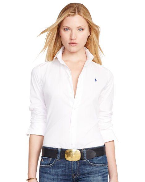 Slim-Fit Poplin Shirt - Polo Ralph Lauren Shirts   Blouses - RalphLauren.com e07df4190b4