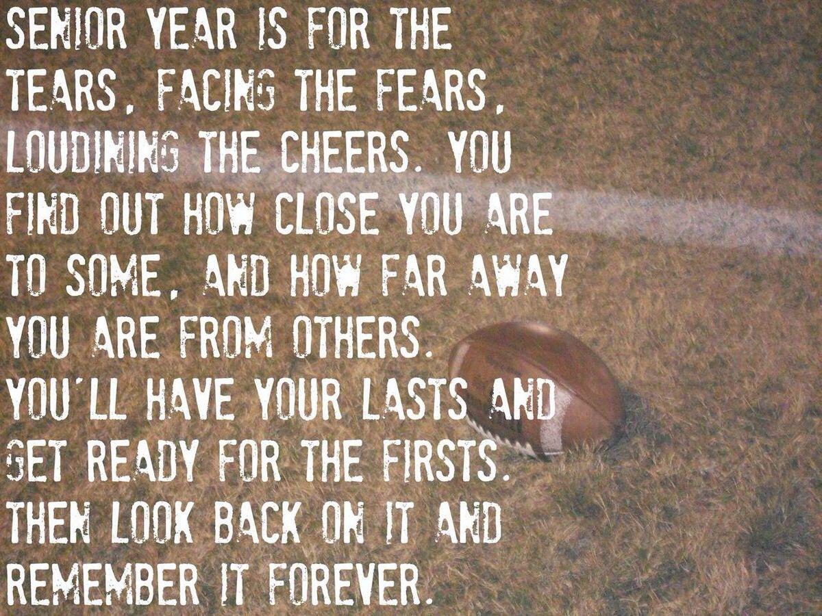 Senior year | Senior year quotes, High school quotes, Senior ...