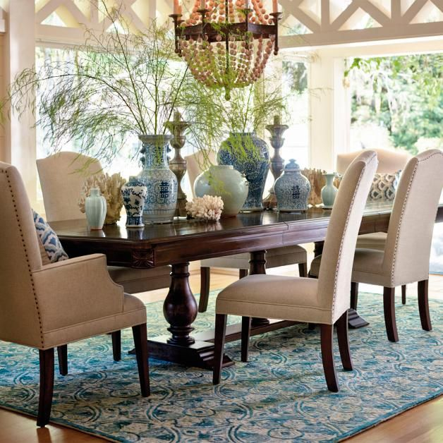 Avalon Upholstered Dining Chairs  Frontgate  Interior Design Endearing Upholstered Dining Room Chairs Design Ideas